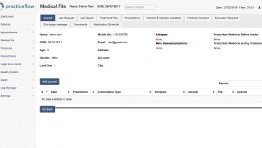 medicalfile screenshot
